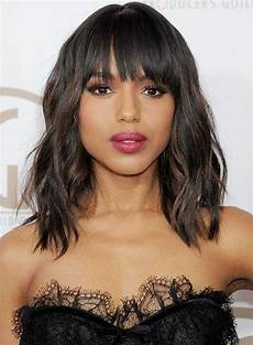 Lob Hairstyles With Bangs
