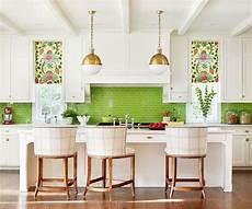 Green Kitchen Backsplash 30 Green Kitchen Decor Ideas That Inspire Digsdigs