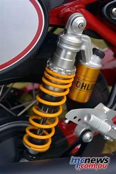 Moto Guzzi V7 Racer Ohlins moto guzzi v7 iii racer review motorcycle tests mcnews