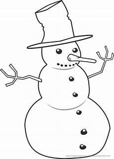 Ausmalbilder Winter Schneemann Ausmalbilder Winter Und Schnee