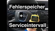 Fehlerspeicher Auslesen Und L 246 Schen Serviceintervall