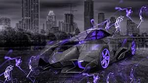 Lamborghini Egoista Crystal City Energy Car 2015