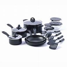Kitchen Essentials Non Stick Cookware by Basic Essentials 17 Non Stick Kitchen Starter