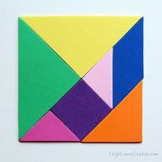 Tangram Kinder Malvorlagen Tutorial Magnetic Craft Foam Tangrams Foam Crafts Kindergarten