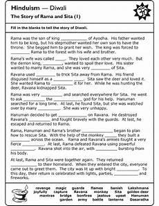 hinduism worksheets for middle school schools religion worksheet re teaching pinterest worksheets and diwali