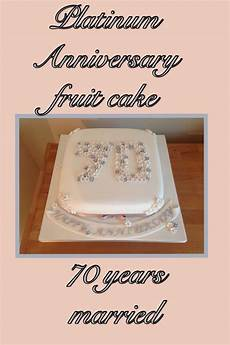 70th Wedding Anniversary Gifts Traditional 70th platinum anniversary cake wedding anniversary
