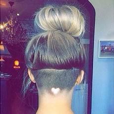 heart shaped hair design