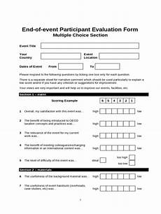 event evaluation form 2 free templates in pdf word excel download