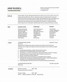 resume objective exles in customer service 9 resume objective sles pdf word