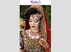 Gorgeous bride by kashee's   Kashee's Glamorous Hair