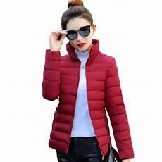 s oliver jacken damen stand collar basic jacket winter slim solid autumn