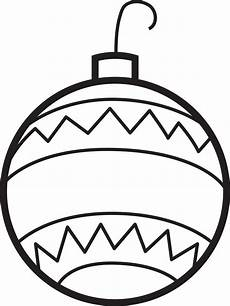 printable ornaments coloring page for 2