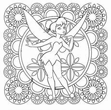 tinkerbell difficult coloring page tinkerbell coloring