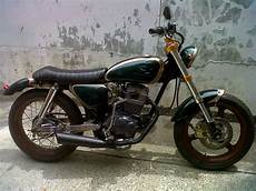 Modifikasi Chopper by Honda Tiger Modifikasi Chopper Thecitycyclist
