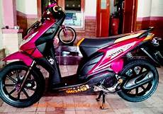 Modifikasi Motor Beat Standar by Motor Beat Modifikasi Standar Warna Merah Modifikasimotorz
