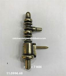 fiche à lacet lapeyre embout de reparation bronze axe 7 mm compg cuisinesr