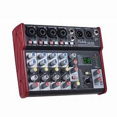 usb audio interface vs mixer sm 68 6 channelmixing console mixer built in 16 effects with usb audio interface supports 5v