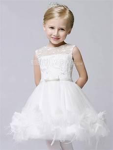 robe de fille pour mariage appliques en tulle
