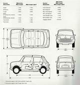 Image Result For Classic Mini Cooper Dimensions