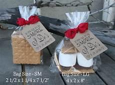 i do bbq bridal shower favors diy bags favor tags w ribbon