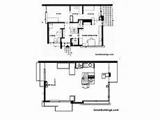 schroder house floor plan schroder house plans sections elevations pdf