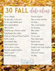 Fall Date Ideas free printable list for fall 32 fall ideas