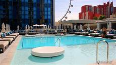 tour of the new pool at the linq hotel casino las
