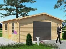 garage bois en kit garage en bois 600x600 44mm 36m 178