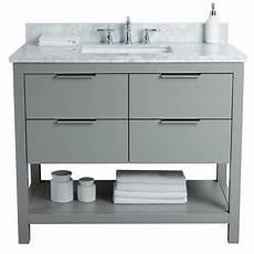 Bathroom Vanity Sink Toronto by Floor Mount 42 Single Sink Vanity Freestanding