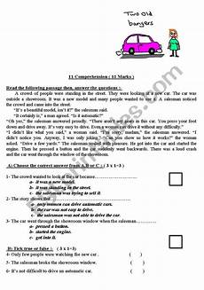 poetry comprehension worksheets year 2 25389 2 reading comprehension worksheets for intermediate level esl worksheet by attoff