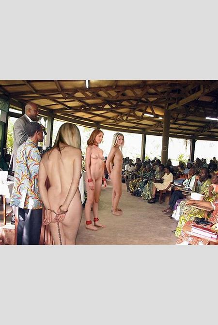 Naked Slave Girls At Auction