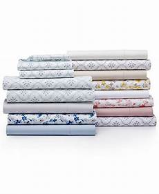 martha stewart collection cotton percale 400 thread count solid and print sheet collection