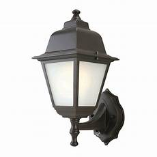 outdoor wall lantern dusk to dawn hton bay 1 light rubbed bronze outdoor dusk to dawn