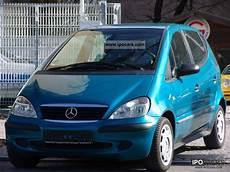 2001 mercedes a 140 l elegance car photo and specs