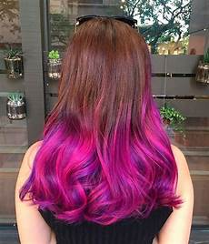 Dip Dye Hair Color Ideas