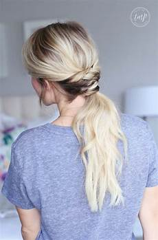 41 diy cool easy hairstyles that real can actually do at home diy projects for