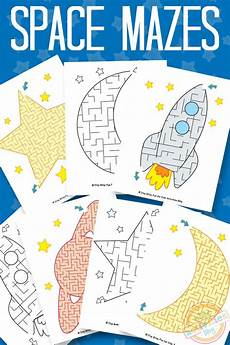 space activities and printables the crafting