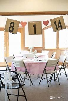 easy and super cute banner for a bridal shower made from simple cardstock ribbon other sweet