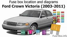 ford crown fuse box legend fuse box location and diagrams ford crown 2003 2011