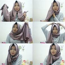 32 Jilbab Simple Buat Wisuda Model Terpopuler
