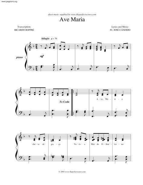 Ave Maria Beyonce Sheet Music