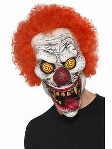 twisted clown mask 44745 fancy dress