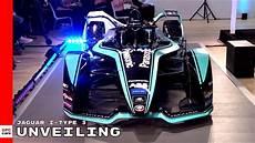 Jaguar I Type 3 Second Generation Formula E Racecar