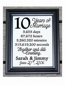 15 Wedding Anniversary Ideas 10th wedding anniversary cotton print 10th wedding gift 10