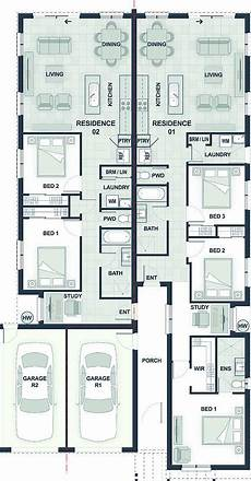 dual occupancy house plans dual occupancy home designs narrow blocks the expert