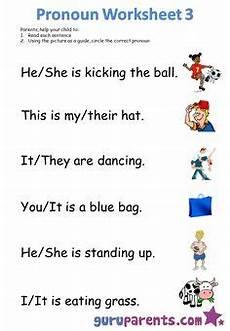circle the pronouns worksheet for first grade free to print pdf education pronoun