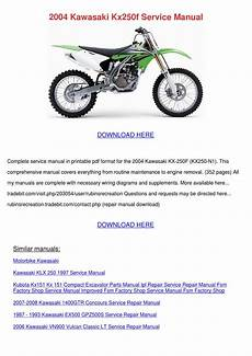 1993 Kawasaki Ex500 Wiring Diagram by 2004 Kawasaki Kx250f Service Manual By Antoinettewillie