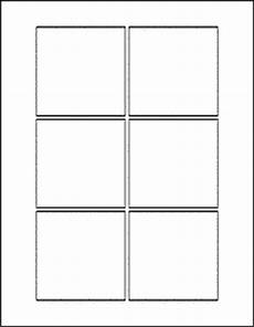 note card template 2 per page square labels for laser and inkjet printers free