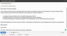 sending a resume through email resume templates