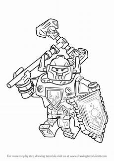 Lego Nexo Knights Ausmalbilder Axl Learn How To Draw Axl From Lego Nexo Knights Lego Nexo